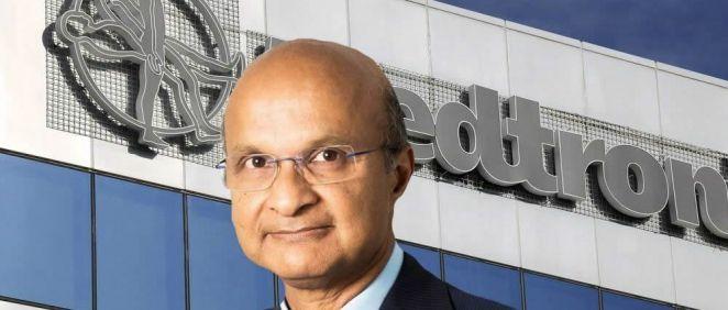 Omar Ishrak, CEO de la compañía Medtronic