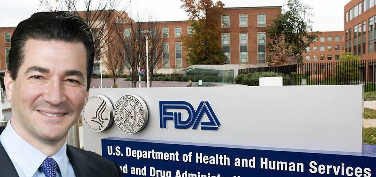 Scott Gottlieb, exdirector de la Agencia del Medicamento de Estados Unidos (FDA)