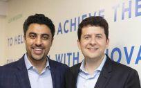 Shantanu Gaur y Samuel Levy, fundadores de Allurion Technologies