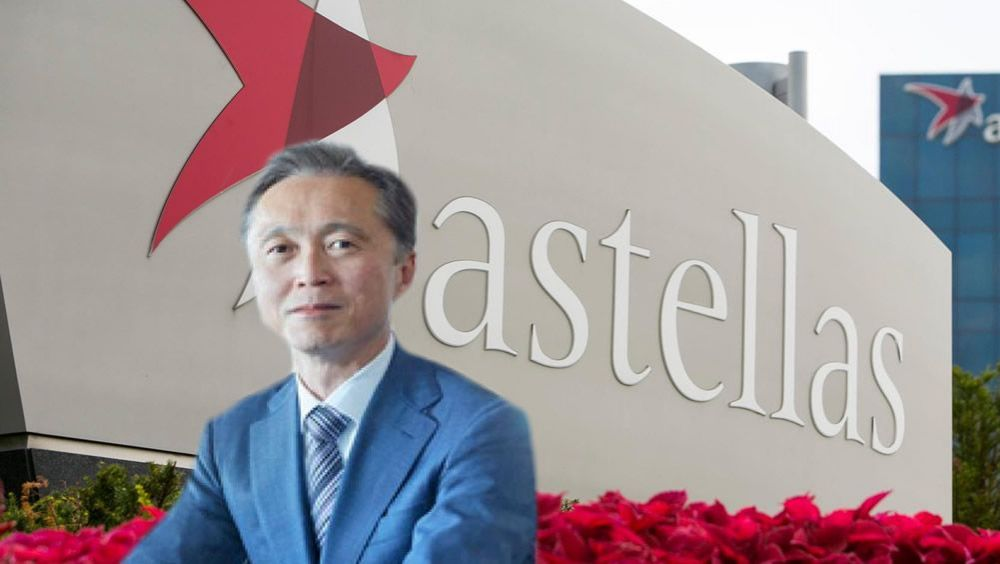 Kenji Yasukawa, presidente y CEO de Astellas.