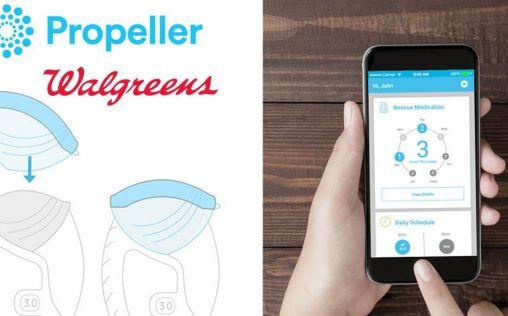 Propeller Health y Walgreens, juntas para mejorar los servicios de farmacia