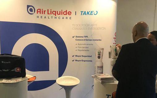 Air Liquide Healthcare participa en el encuentro internacional de SEMES
