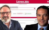 De izq. a dcha.: Juan Blanco, CEO del Grupo Mediforum; y Luis Truchado, director de Eurogalenus