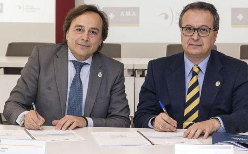 AMA Vida firma la póliza colectiva de vida con el colegio de Ópticos-Optometristas de Valencia