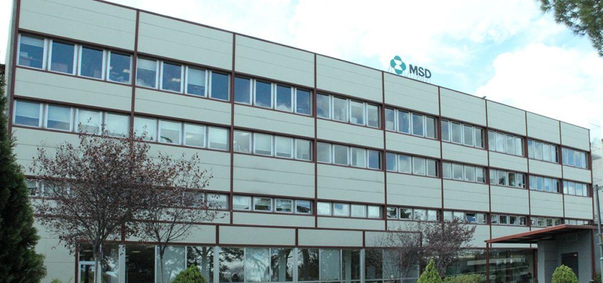 Sede de la compañía biofarmacéutica MSD en España
