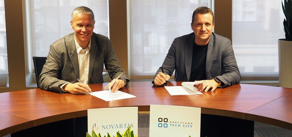 Novartis y Barcelona Tech City, juntos para aportar soluciones innovadoras en salud