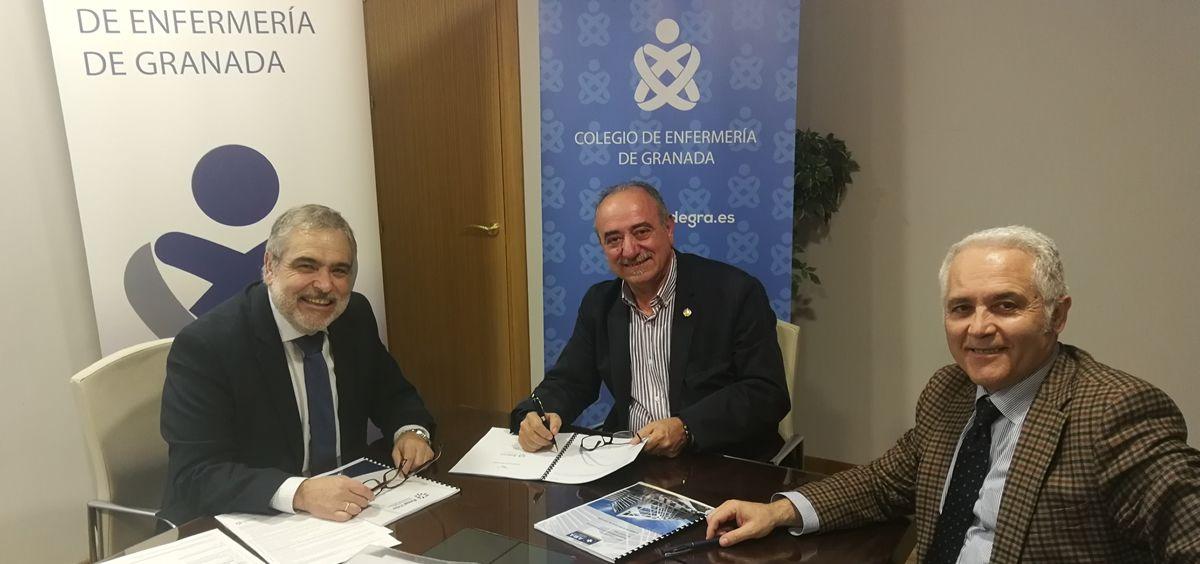 AMA Vida firma con el Colegio de Enfermería de Granada la póliza colectiva de Vida