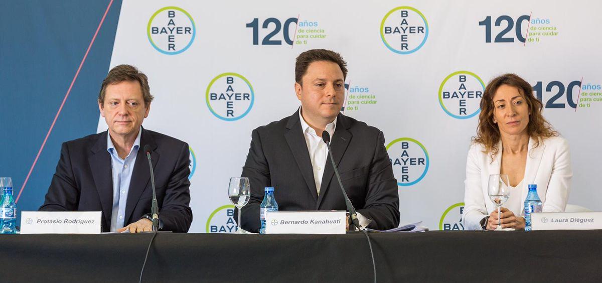 Presentación de los resultados financieros de Bayer.