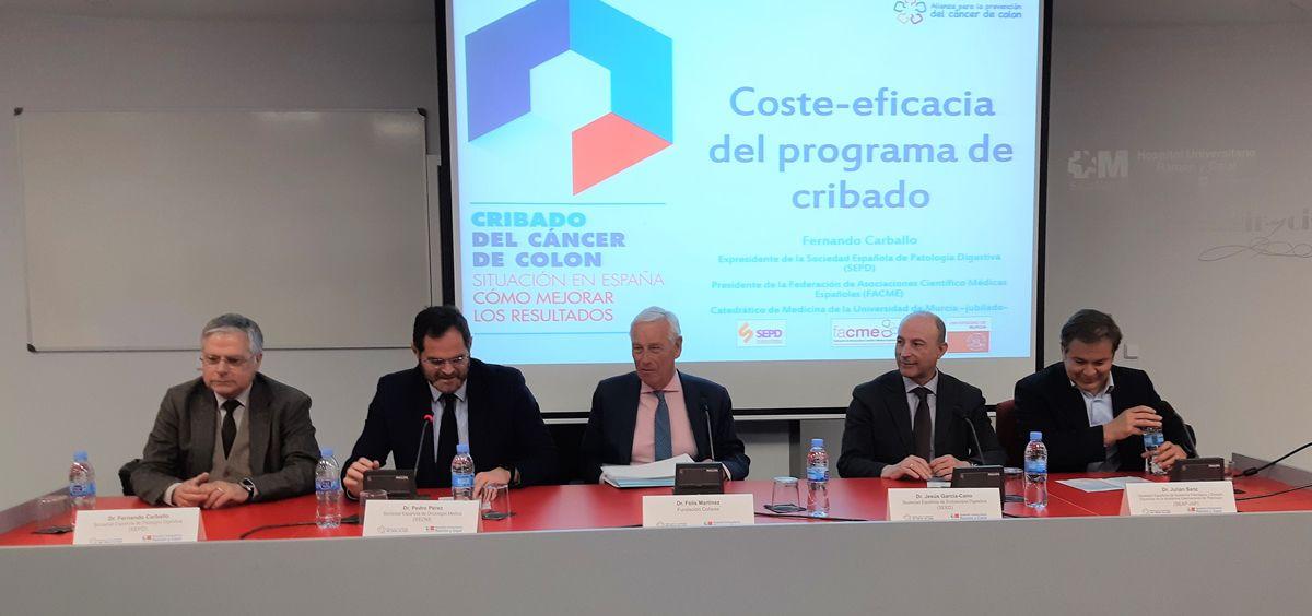 Jornada 'Cribado del Cáncer de Colon. Situación en España. Cómo mejorar los resultados' de Grupo Cofares