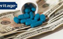 Heritage Pharmaceuticals resuelve sus acusaciones de fijación de precios a golpe de billetera
