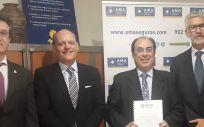 AMA Vida firma la póliza colectiva de Vida con el Colegio de Odontólogos y Estomatólogos de Aragón
