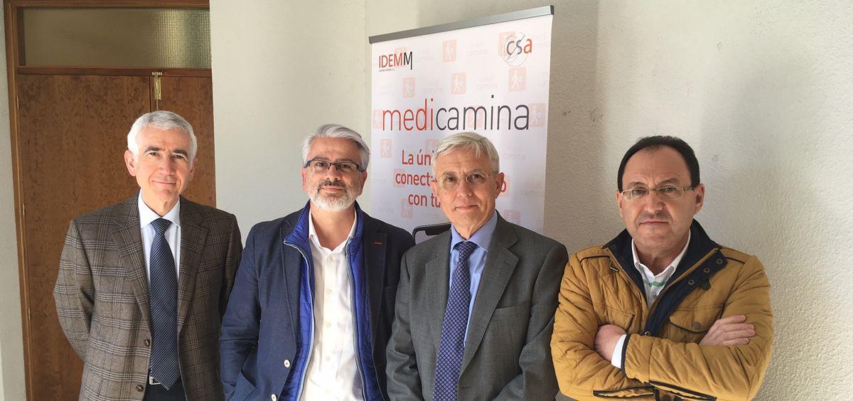 Presentación de la nueva aplicación de IdemmFarma para los mayores MediCamina