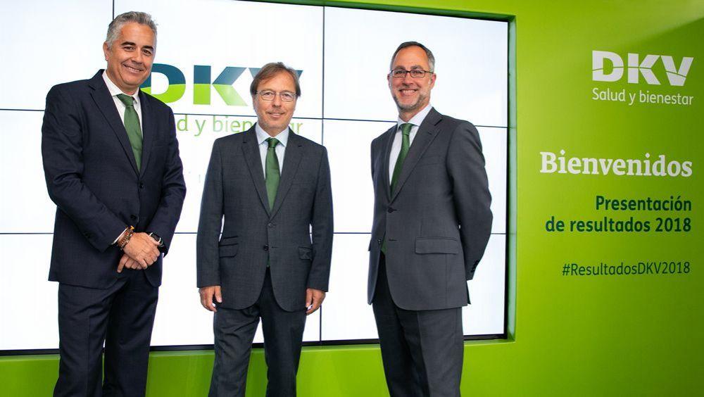 Presentación de los resultados de DKV durante 2018