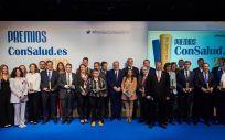 Foto de familia de los Premios Consalud 2019