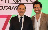 Eduardo Pastor, presidente del Grupo Cofares; y Quico Taronjí, aventurero y presentador de televisión.