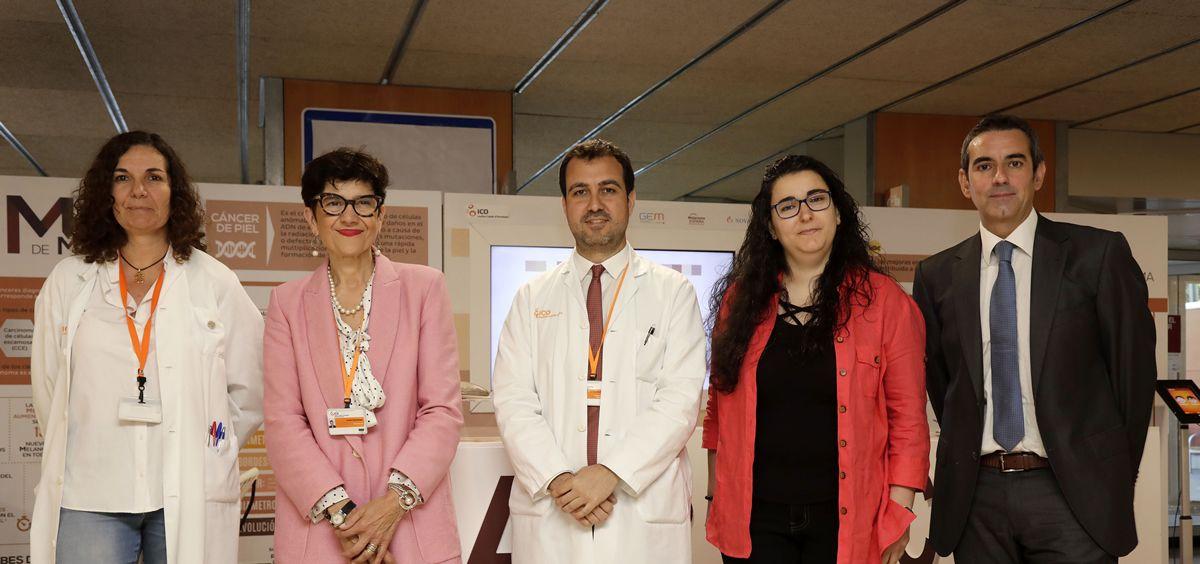 El Instituto Catalán de Oncología acoge la campaña 'M de Melanoma'