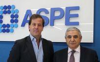 Carlos Rus, secretario general de ASPE, y Cándido Lozano, director comercial y de desarrollo de negocio de Althea