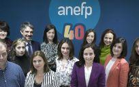 Miembros de la Asociación para el Autocuidado de la Salud (anefp)