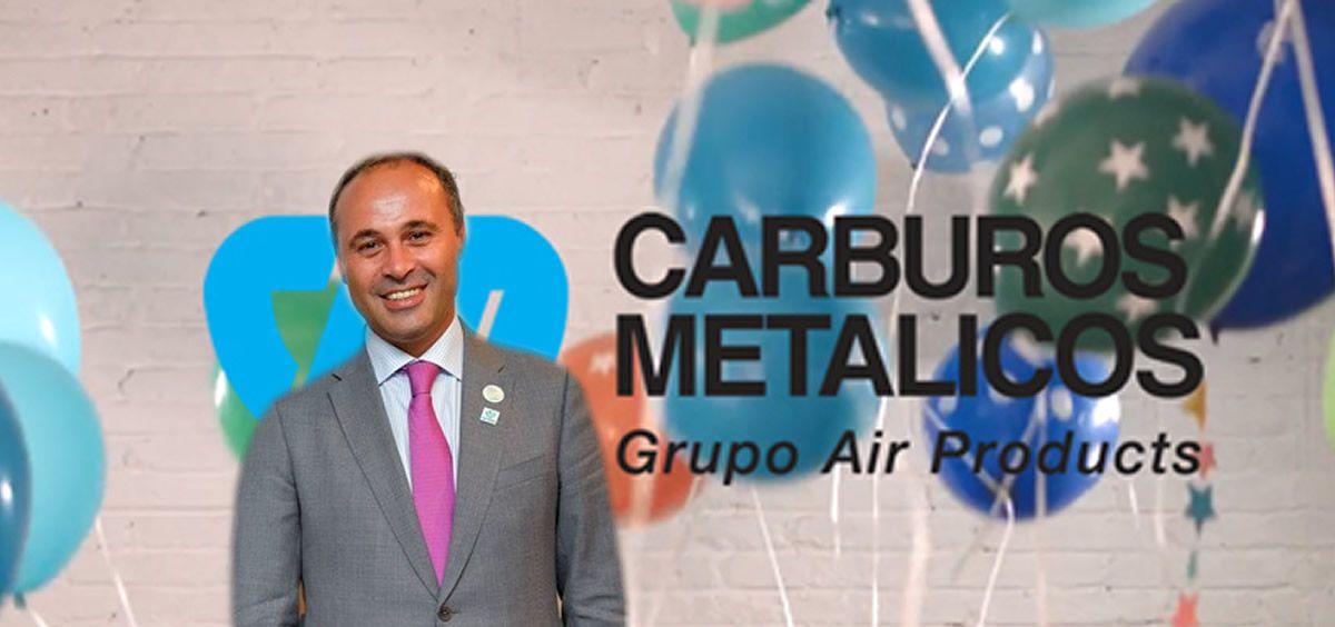 Ahmed Hababou, director general de Carburos Metálicos