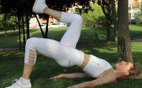 Erika Sanz, creadora de Booty Shape Movement te propone 5 ejercicios muy sencillos que podrás hacer en casa (Foto de Estetic)