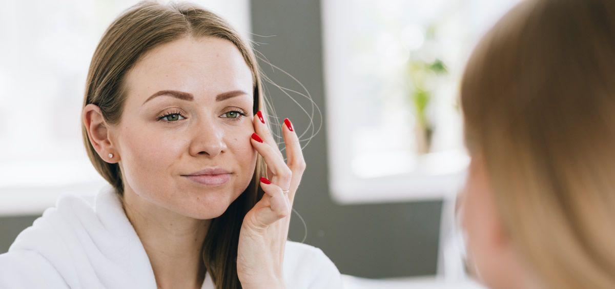 Los ojos y los labios son dos de las zonas más sensibles del rostro (Foto. Freepik)