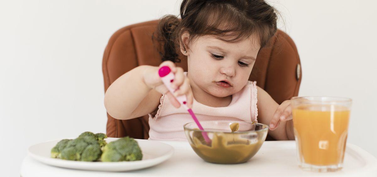 Las alergias alimentarias en la infancia son un fenómeno transitorio (Foto. Freepik)