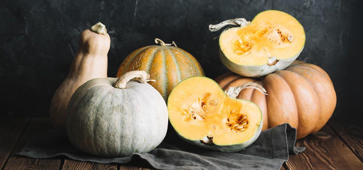 La calabaza es una hortaliza que se utiliza como objeto decorativo en Halloween (Foto. Freepik)
