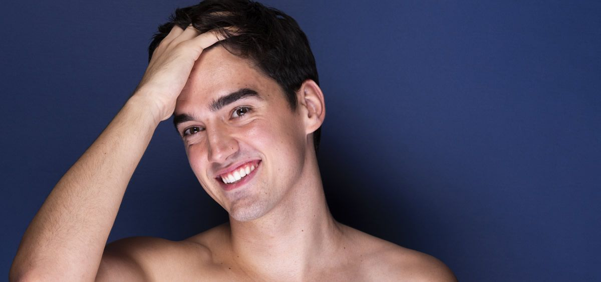 La piel del hombre es más gruesa y más rica en fibras de colágeno y elastina (Foto. Freepik)