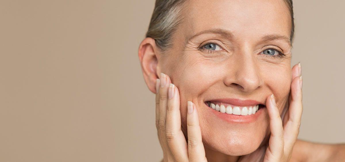 La piel experimenta cambios alrededor de los 50 años (Foto. Estetic)