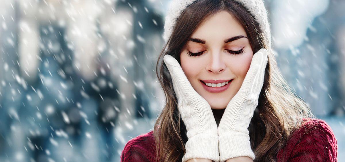 En invierno, fundamentalmente en lugares sometidos a bajas temperaturas, tenemos que soportar mayor deshidratación de la superficie de la piel (Foto. Estetic)