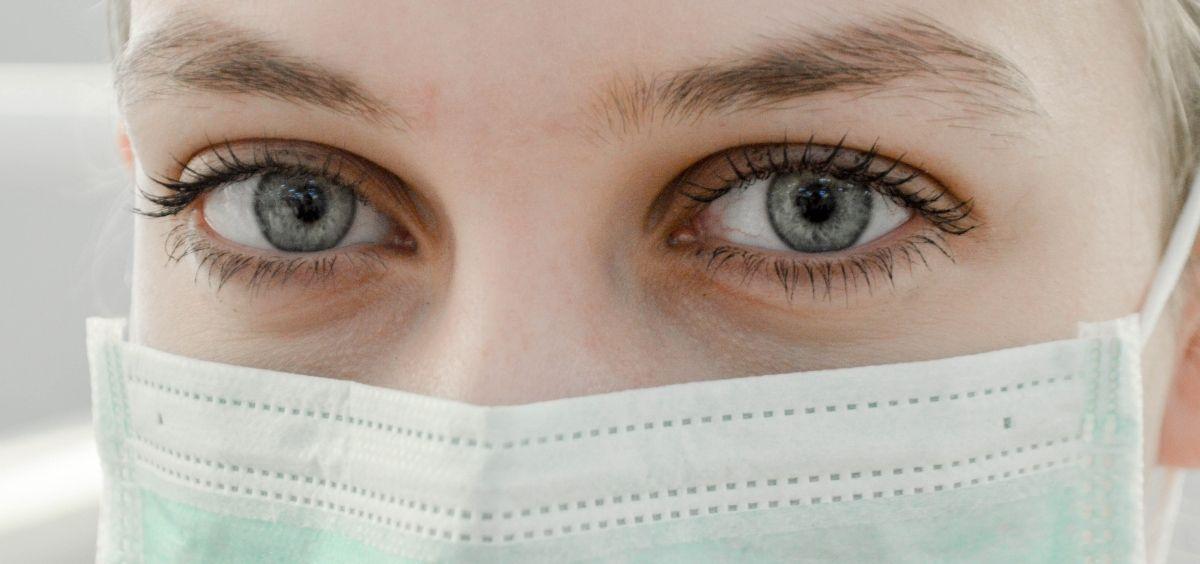 Paciente con mascarilla. (Foto. Unsplash)