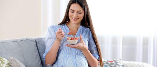 Mujer embarazada (Foto. Estetic)