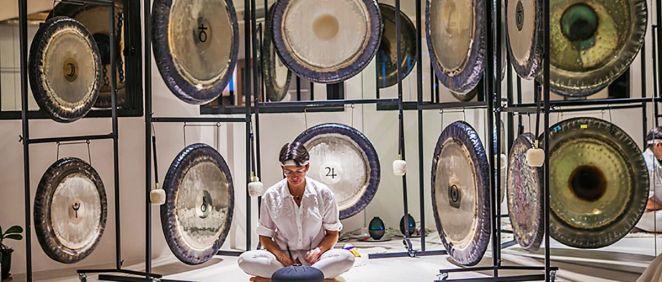 Terapia milenaria del gong (Foto. Estetic)
