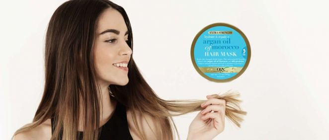 Línea para cabello de OGX (Foto. Fotomontaje Estetic)
