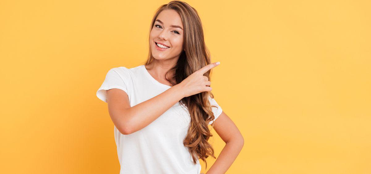 Así puedes lucir un cabello 10 (Foto. Freepik)