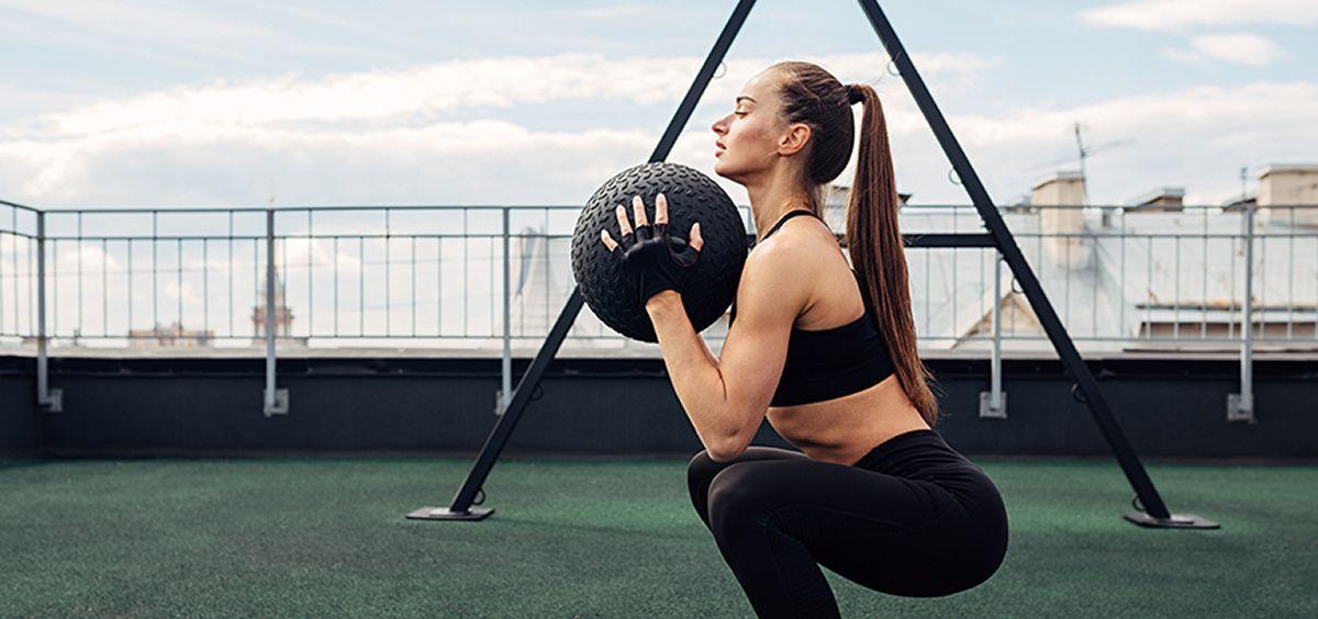 Musculación en la mujer (Foto. Getty Images)