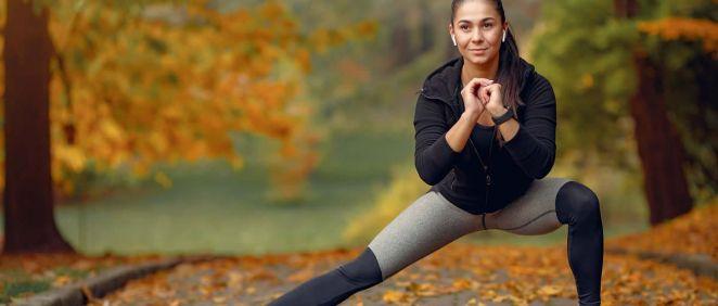 Chica haciendo deporte (Foto. Freepik)
