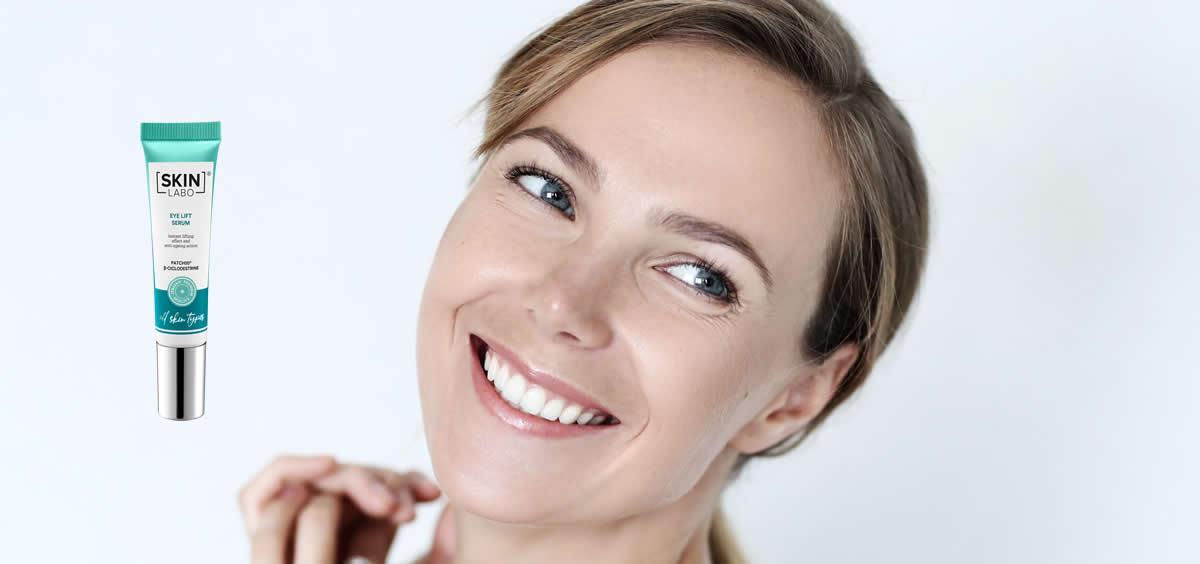 Sérum efecto lifting de SkinLabo (Foto. Fotomontaje Estetic)