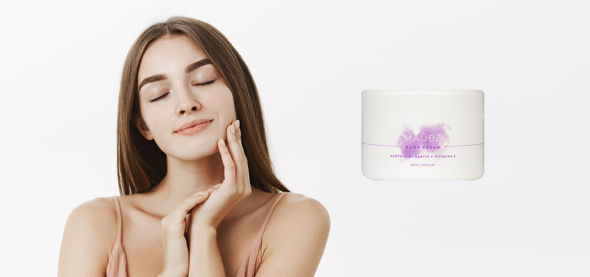 The Body Cream de Maûbe Beauty (Foto. Fotomontaje Estetic)