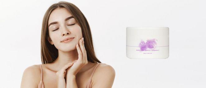 The Body Cream de Maûbe Beauty (Foto. Fotomontaje Estetic)