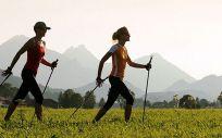 Nordic Walking o marcha nórdica (Foto. Estetic)