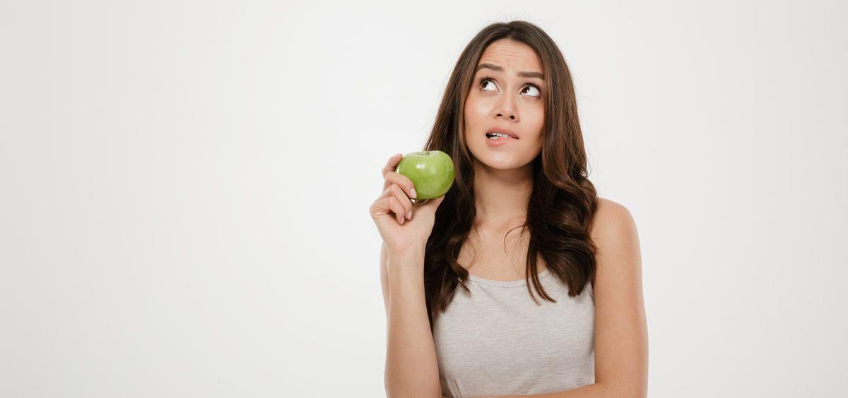 Dieta y acné (Foto. Freepik)