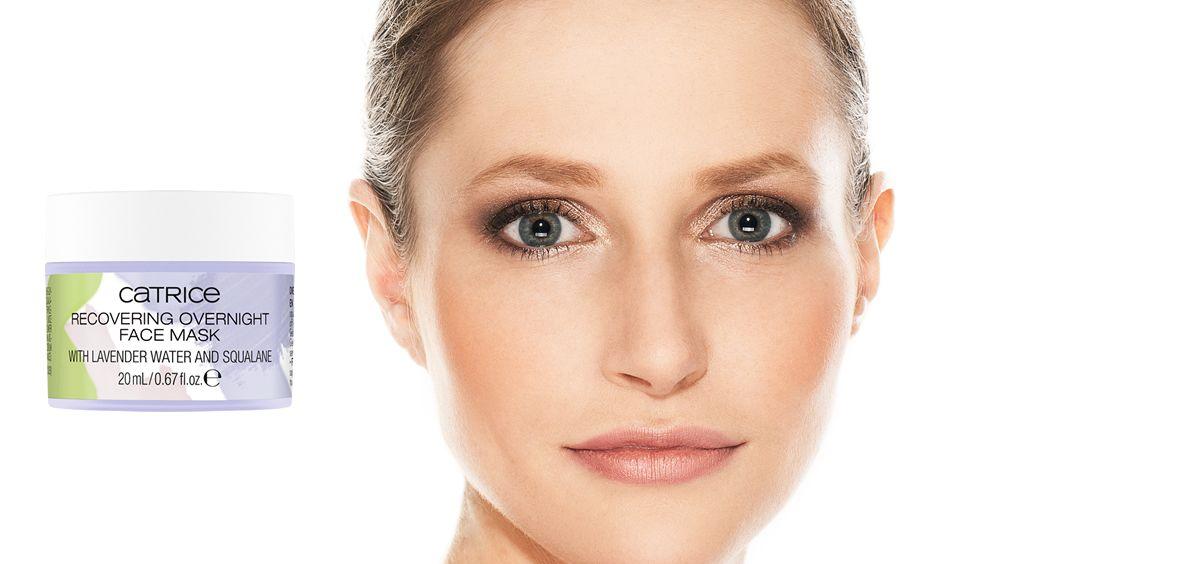 Overnight Beauty Aid de Catrice (Foto. Fotomontaje Estetic)