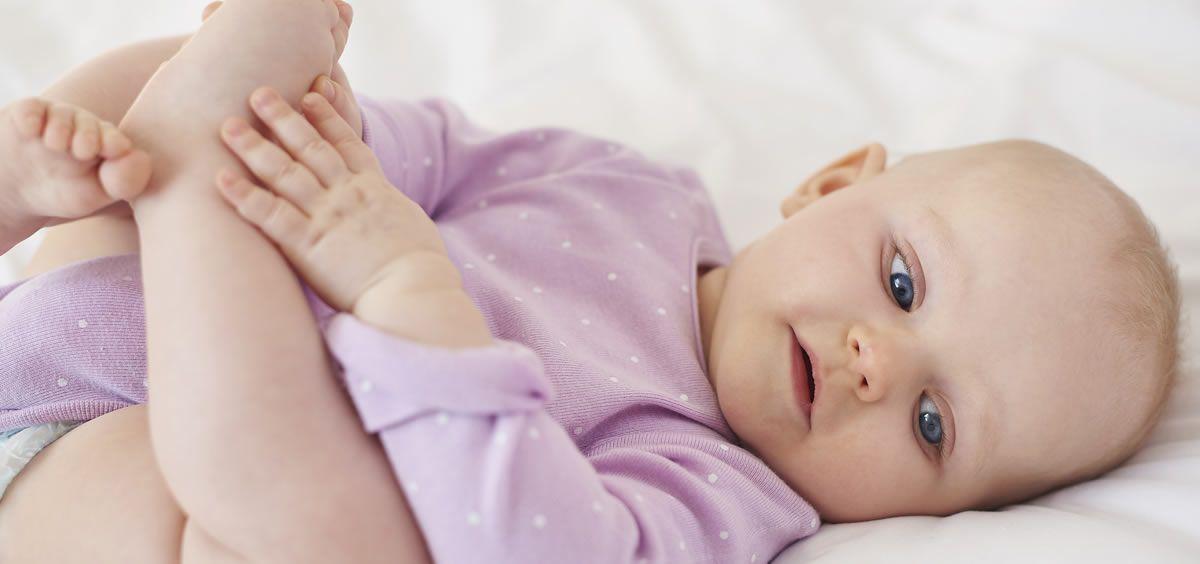 Bebé con dermatitis (Foto. Freepik)