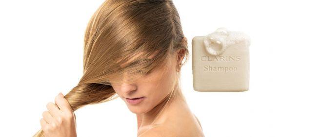 Shampooing Solide Nourrissant Clarins (Foto. Fotomontaje Estetic)