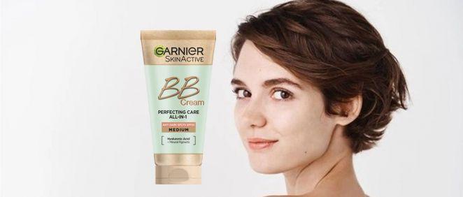 BB Cream de Garnier (Foto. Fotomontaje Estetic)