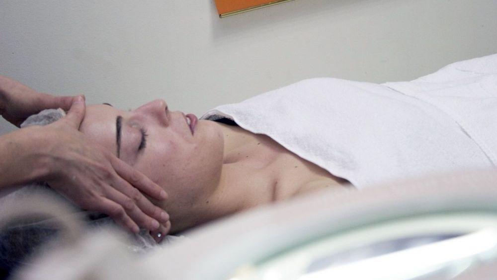 Tratamiento de peelings para la piel.