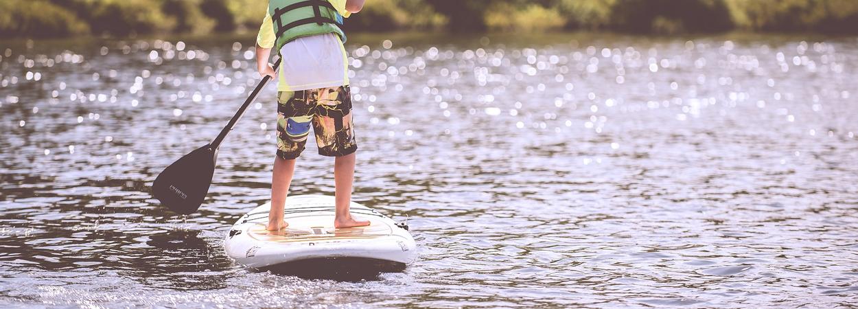 Paddle Surf, un deporte para el invierno.