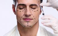 Cirugía estética facial en hombres
