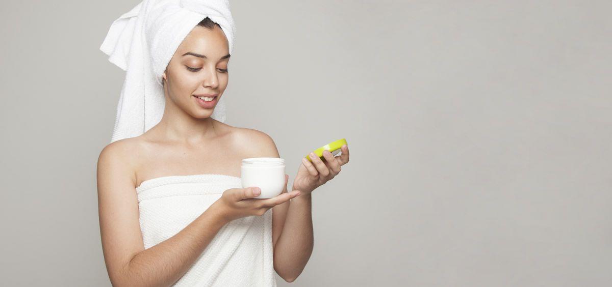 La crema hidratante es una buena opción para proteger la piel